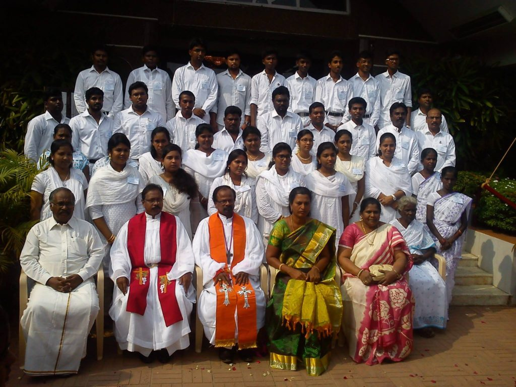 Bishop and Confirmation members