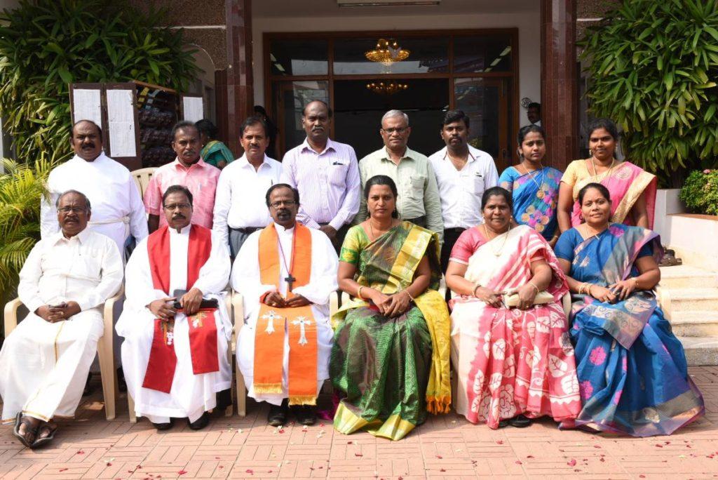 Bishop and PC members